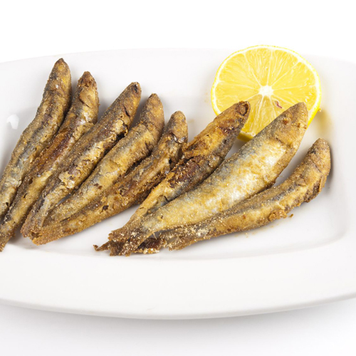 Gavro, Fried Anchovies - Thallasina, From the Sea, Salates, Salads, Antreu, Straters, Pickup, Delivery, Restaurant Decebalus