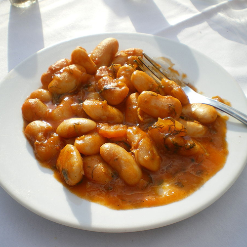 Giant Greek Beans (S) - Appetizers, Olive, Aperitive, Pickup, Delivery, Restaurant Decebalus