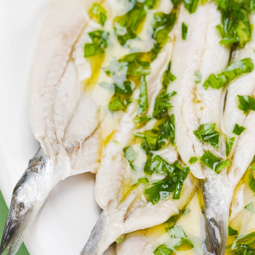 Marinated Anchovies - Appetizers, Olive, Aperitive, Pickup, Delivery, Restaurant Decebalus
