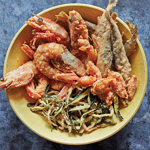 Mixed Fish - Thallasina, From the Sea, Salates, Salads, Antreu, Straters, Pickup, Delivery, Restaurant Decebalus