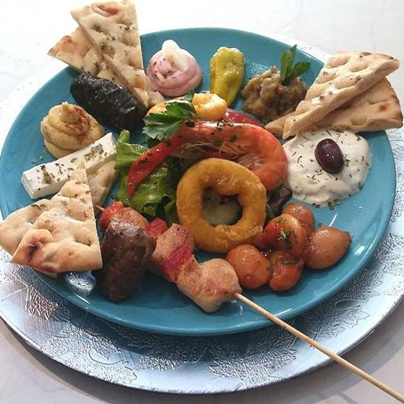 Pikilia 2 People - Traditional Home Made Greek Dishes, Pickup, Delivery, Restaurant Decebalus