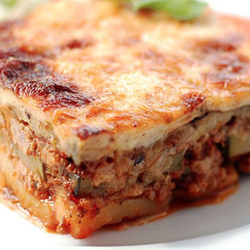 Traditional Moussaka - Traditional Home Made Greek Dishes, Pickup, Delivery, Restaurant Decebalus