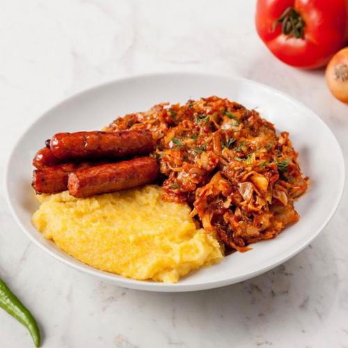 Varza Calita cu Carnati - Mancaruri Gatite, Home Made Foods, Delivery, Restaurant Decebalus