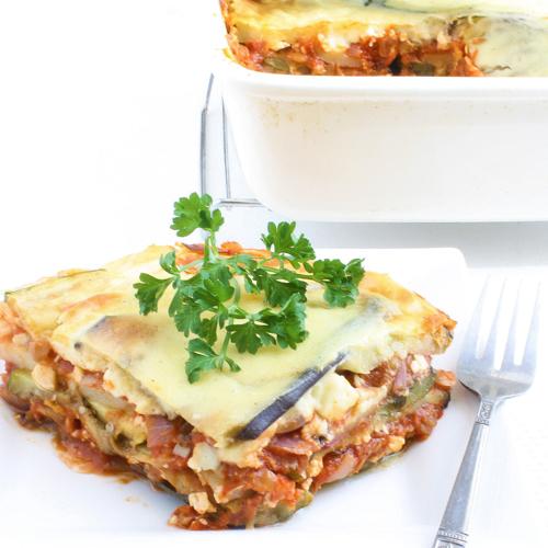 Vegetarian Moussaka - Traditional Home Made Greek Dishes, Pickup, Delivery, Restaurant Decebalus